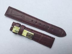 Chronoswiss Damen Uhrenarmband 16 mm Alligator Weinrot