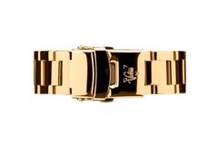 Vintro Watches Uhrenarmband Edelstahl - Gelbgold