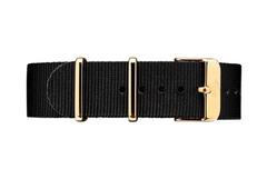 Vintro Watches Uhrenarmband Textil - Schwarz