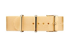 Vintro Watches Uhrenarmband Textil - Beige
