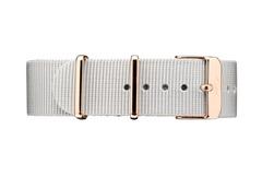 Vintro Watches Uhrenarmband Textil - Grau